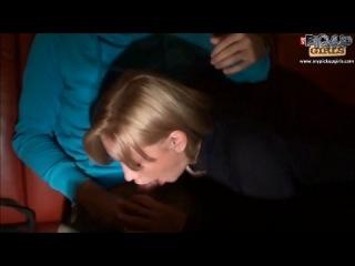 Сочная блондинка Оля оказалась развратной сучкой